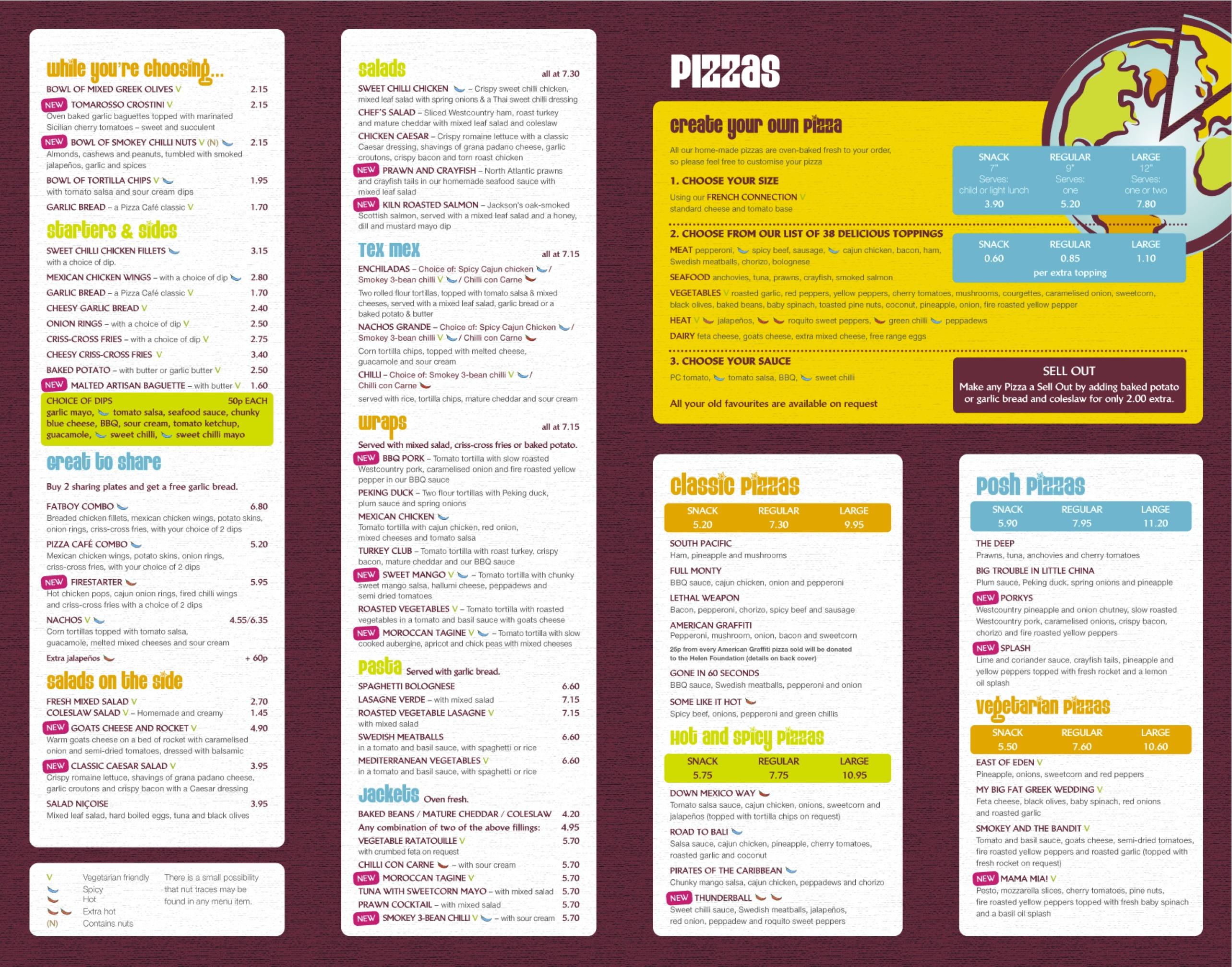 Pizza Cafe Newton Abbot Menu Page 1 : pizza cafe newton abbot menu page 1 from matthewsfoodblog.co.uk size 2567 x 2015 jpeg 1861kB
