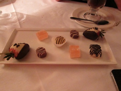 The Thatched Cottage Restaurant - Newton Abbot - Petit Fours