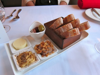 The Elephant Restaurant - The Room - Torquay - Bread